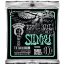 Ernie Ball Titanium Coated Not Even Slinky Electric Guitar Strings 012-056